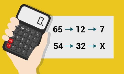 Calculadora regla de tres compuesta