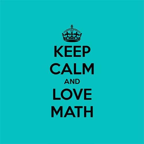 Imagen amor a las matematicas