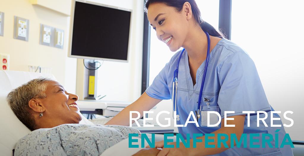 Conoce qué es la regla de tres para enfermería y cómo se aplica para administración de medicamentos y soluciones con ejemplos de la vida real.